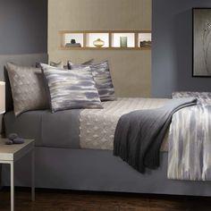Brushed Stripe 4 Piece Comforter Set