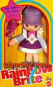Rainbow Brite Doll Shy Violet