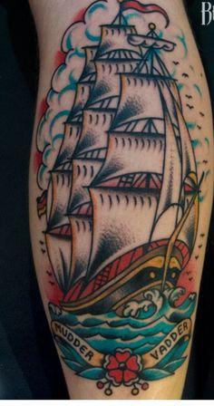 Tatuajes barcos