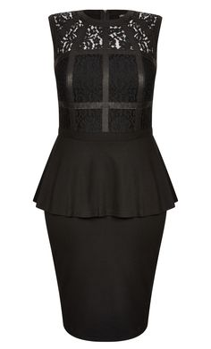 42882e37f51 City Chic - BONDAGE LACE DRESS - Women s Plus Size Fashion City Chic