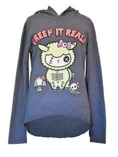 CREEP IT REAL fashion hoodie by NewBreed Girl