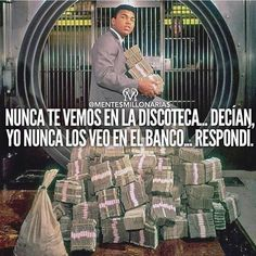 poses with his winnings from 1964 Double Tap if you get that by alphasportz Favorite Quotes, Best Quotes, Life Quotes, Mentor Of The Billion, Entrepreneur Motivation, Quotes And Notes, Spanish Quotes, Self Help, Just In Case