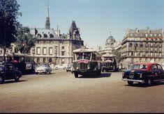 place Saint-Michel vers 1963 - Paris 5e/6e