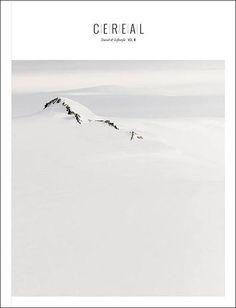Cereal: Den farblichen Gegenentwurf zum dunklen Wired-Titel liefert das englische Reise-Magazin Cereal. Mehr Weiß geht selbst bei einer Winterlandschaft kaum.
