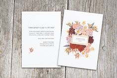 Album - sharon's invitations