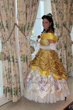 Handmade Beauty and the Beast Belle from Fantasmic - Disney Princess Costumes