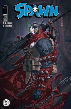 Spawn issue 270 cover art