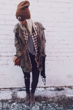Love this layered look with textures, patterns and colours