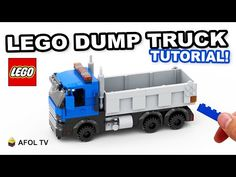 Lego Projects, Projects For Kids, Project Ideas, Construction Lego, Classic Lego, Lego Truck, Lego Videos, Lego Army, Lego Boards