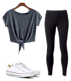 """Untitled #11"" by gabbyfuentes2001 on Polyvore featuring Jockey and Converse"