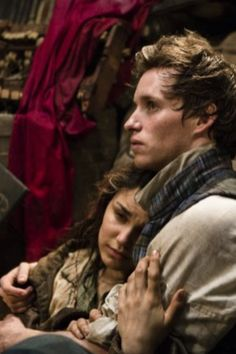 Les Miserables.   This is my absolute favorite scene in the musical/film. A Little Fall of Rain is my favorite song. And Samantha Barks is my favorite Eponine! She's beautiful and talented.