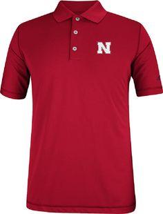 adidas Nebraska Cornhuskers 4th Quarter Pure Motion Performance Golf Shirt $56.95
