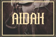Aidah by Arterfak Project on @creativemarket