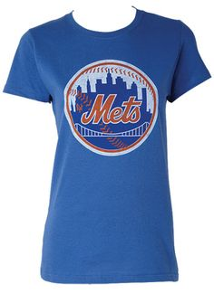 NY Mets T-shirt Story had to wear as part of her bet with Daniel