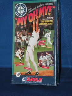 My Oh My 1995 Seattle Mariners 1995 Season VHS Sealed