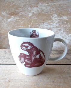 baby sloths coffee mug.