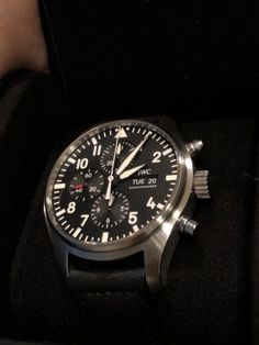 iwc pilot chronograph IW377709 SEE DESCRIPTION Iwc Pilot Chronograph, International Watch Company, Porsche Design, Omega Watch, Rolex Watches, Product Description, Style