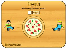 21 Activity for students to go through the levels of fractions. Fractions always seem to be a difficult concept for students to grasp.Here are some primary fraction activities to use with students. Fraction Games, Fraction Activities, Math Resources, Math Activities, Interactive Activities, Math Games, Introduction To Fractions, Math Fractions, Dividing Fractions