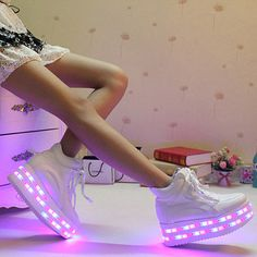 Platform light up sneakers for adults,LED Shoes Women's Fashion Sneakers Men Women Led Sneakers With Lights For Adults For Lover-in Women's Casual Shoes from Shoes on Aliexpress.com | Alibaba Group