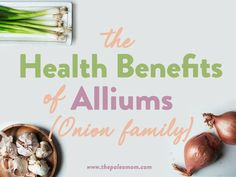 Members of the allium family are known for being incredibly health promoting! Benefits Of Berries, Paleo Mom, Gut Microbiome, High Fat Diet, High Cholesterol, Gut Health, Health Benefits, Allium, Veggies