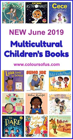 New Multicultural Children's Books June 2019 Great Books, My Books, Kindergarten, Preschool Books, Reading Rainbow, Kids Reading, Reading Lists, Chapter Books, Children's Literature