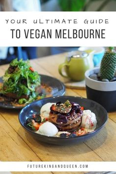 The best vegan restaurants in Melbourne! Vegan Desserts, Raw Food Recipes, Healthy Recipes, Vegan Vegetarian, Vegetarian Recipes, Vegan Food, Eat Cafe, Brunch Cafe, Best Vegan Restaurants