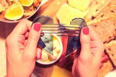 Design*Sponge - heart part utensil set