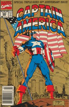 Captain America #383 by Ron Lim