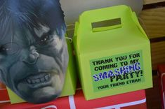 Hulk Birthday Party Ideas