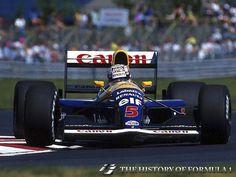 1991 Formula 1 Canadian Grand Prix - Nigel Mansell.