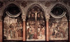 altichiero da zevio, crucifixion