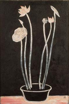 Painter Sanyu (Chinese-French: 1901–1966)  - Lotus