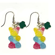 GUMMY BEAR SHAPED EARRINGS- $10.00.