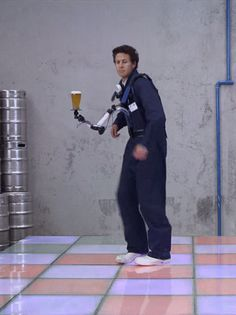 """This thing that keeps your beer perfectly straight while you dance like a stereotype of a white person. 
