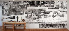 Still Life as Landscape : Dawn Clements' New Exhibition at ...