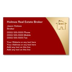 House icons real estate agent business cards pinterest business real estate broker business cards i love this design it is available for customization or ready to buy as is all you need is to add your business info to reheart