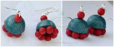 #micashift #polymerclay #earrings -maneesha