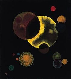 Heavy Circles, 1927 Wassily Kandinsky - 16 December [O. 4 December] 1866 December See archive for more Wassily Kandinsky Wassily Kandinsky, Klimt, Franz Marc, Paul Klee, Art Moderne, Bauhaus, Art And Architecture, Les Oeuvres, Modern Art