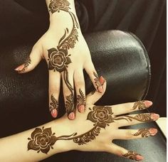 Rose Beauty Parlor Henna Design 2016