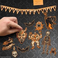 Halloween Mini Decorations