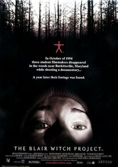 """""""The Blair Witch Project"""" Budget: $750,000 (depending on the source) Revenue: $248.6 million"""