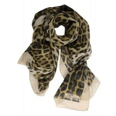Foulard pañuelo Moschino Cheap and chic print leopardo www.sanci.es