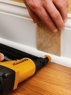 Baseboard styles modern with base molding ideas. Baseboard is the trim that goes along the wall bottom beside the flooring. Different baseboard styles. Baseboard Styles, Baseboard Trim, Baseboards, Drywall, Baseboard Ideas, Home Improvement Projects, Home Projects, Home Renovation, Home Remodeling