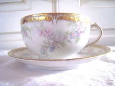Antique French Limoges Hand Painted Exquisite by kellyrosevintage, $34.00