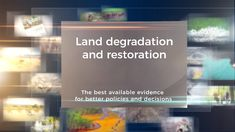 IPBES Land Degradation and Restoration Assessment - English Subtitles Water Pollution, Environmental Issues, Assessment, Landing, How To Find Out, Restoration, English, Activities, English Language