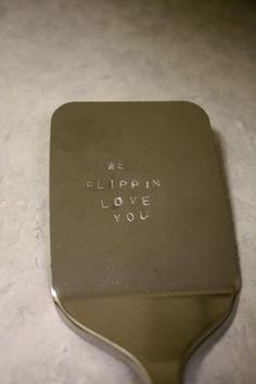 metal stamped spatula
