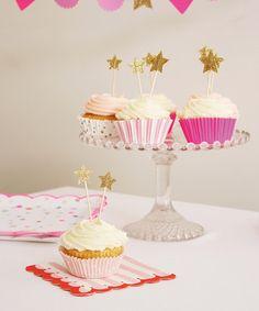 Look at this #zulilyfind! Toot Sweet Pink Cupcake Liner Set #zulilyfinds