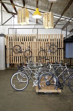 An Englishman in Australia reaps the rewards for award-winning bike design. Bicycle Cafe, Bicycle Store, Bike Storage Office, Velo Shop, Boutique Velo, Velo Design, Range Velo, Cycle Shop, Non Plus Ultra