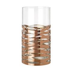 Amazon.de: Stelton Tangle Vase Magnum, Tischvase, Bodenvase, Glas, Edelstahl, H 35.5 cm, X-56-2