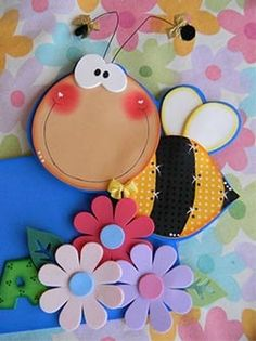 Rubber eva creative ideas for crafting - Colorful Decoration Kids Crafts, Foam Crafts, Diy And Crafts, Paper Crafts, Country Paintings, Punch Art, Paper Piecing, Cute Art, Scrapbook Paper